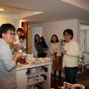 酒井先生のホームパーティーにて(3)