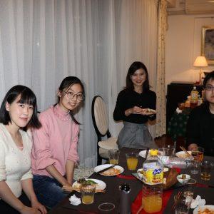 酒井先生のホームパーティーにて(2)