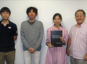 謝 詩雨さんが学位取得しました。