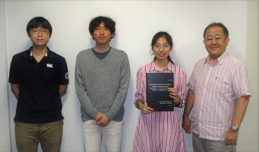 謝 詩雨さんが学位取得しました。おめでとうございます。