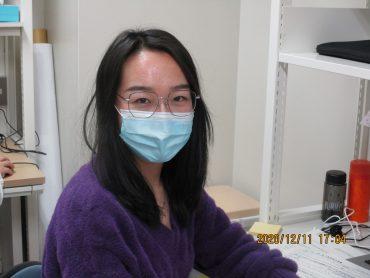 趙 亞楠さんが研究生(10月入学)として研究室に参画しました。