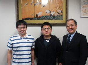 2021年度高次臨床修練Ⅲ期 新里龍司さん(左)柿沼俊さん(右)
